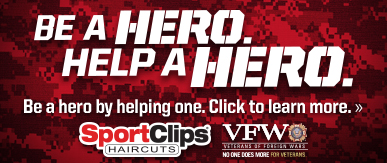 Sport Clips Haircuts of McKinney- Stonebridge​ Help a Hero Campaign